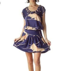Anthropologie Leifnotes Scattered Stellata Dress